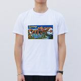 'Greetings from Sai Kung' T-shirt, White