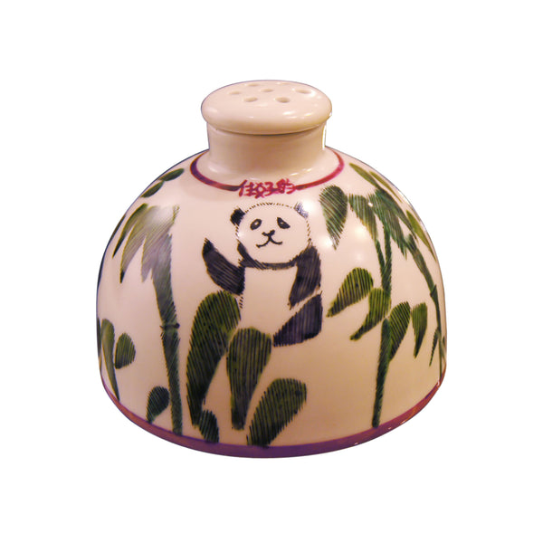 'Bamboo Panda' Hand Painted Diffuser Bottle