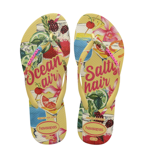 Havaianas Slim Summer, Lemon Yellow