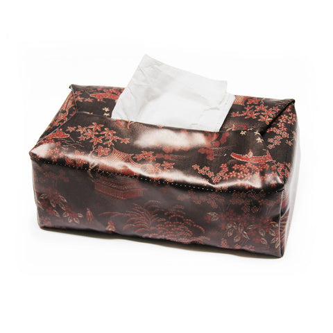 'Secret Garden' tissue box cover