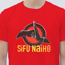 Load image into Gallery viewer, 'Si Fu Nai Ho' T-shirt, Red