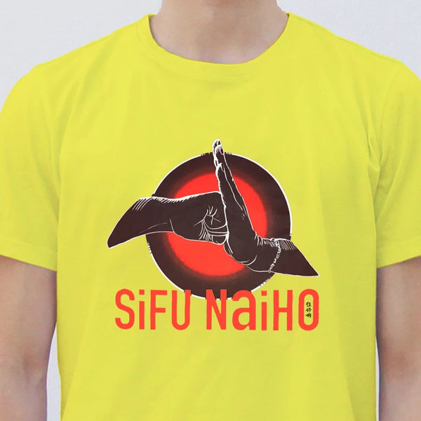 'Si Fu Nai Ho' T-shirt, Yellow