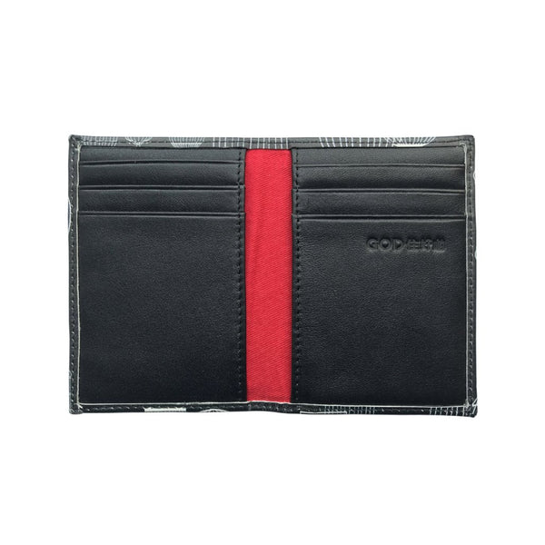 'Siamese Fighting Fish' leather cardholder