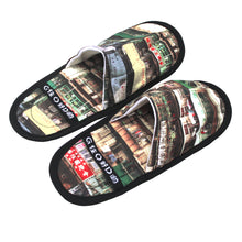 Load image into Gallery viewer, 'Yaumati' foldable travel slippers