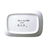 'Hongkie' handpainted soap dish
