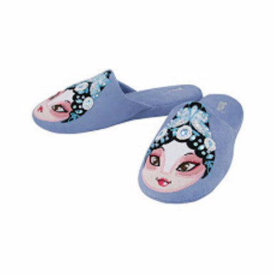 BETTA Lady Chinese Opera Slippers - Blue