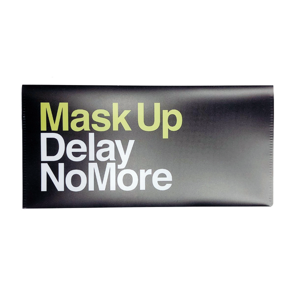 Face Mask Case, Mask Up Delay No More