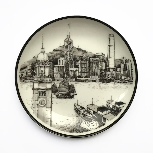 'View of TST' Side Plate Set