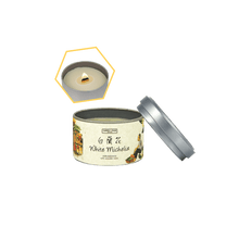 Load image into Gallery viewer, White Michelia Beeswax Tin Candle by Carroll&Chan