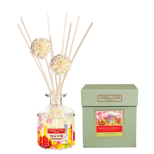 Hong Kong Christmas 200ml Diffuser Set by Carroll&Chan