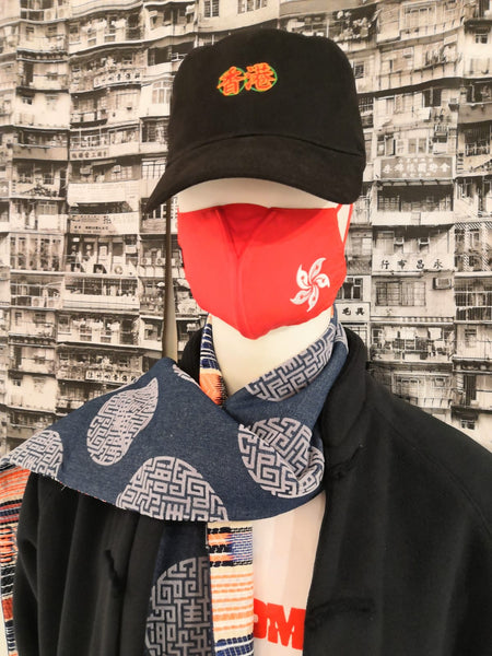 Embroidered HK Why-Y Masks