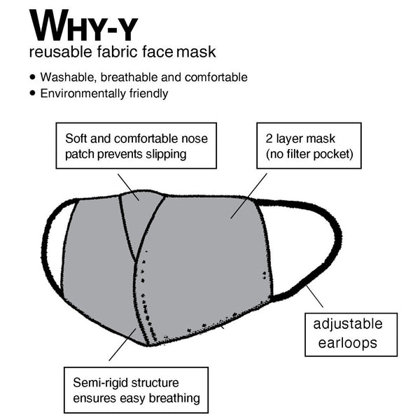 WHY-Y Mask, Double Happiness Lattice
