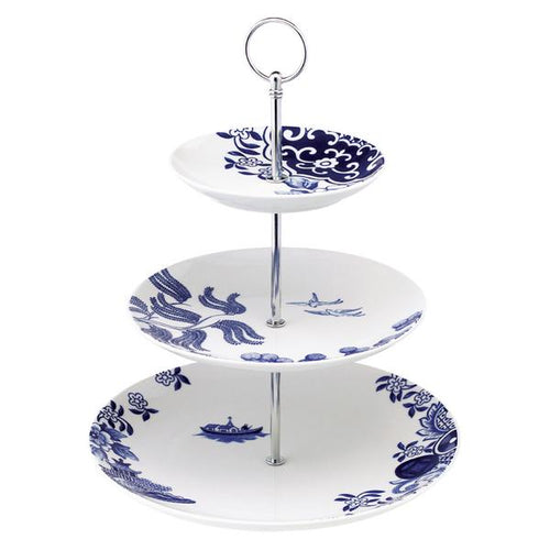 Loveramics 'Willow Love' 3 tier cake stand