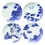 Loveramics Willow Love 21cm Salad plate set of 4