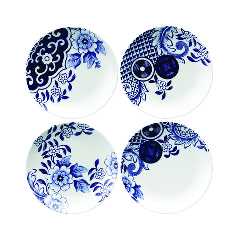 Loveramics Willow Love 15cm side plate set of 4
