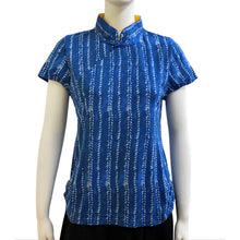 Load image into Gallery viewer, Jersey Mui Jai Top, Blue/Braid