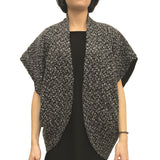 2-Way Cape Jacket, Black
