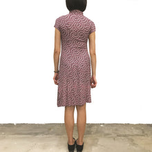 Load image into Gallery viewer, 'Pink Blossom' Printed Qipao Dress