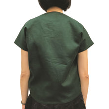 Load image into Gallery viewer, Double Knot Crossover Top, Seaweed Green