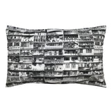 'Yaumati - Black & White'  Pillow Cases, Set of 2