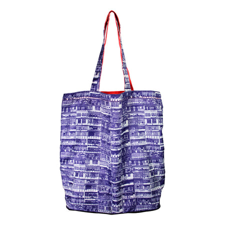 'Yaumati' foldable shopping bag (colour)
