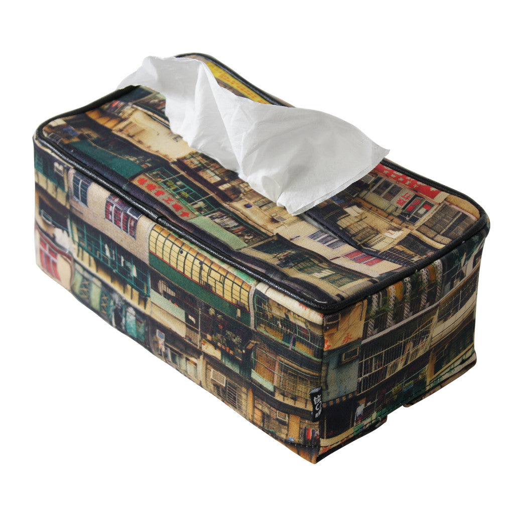 'Yaumati' tissue box cover (colour)