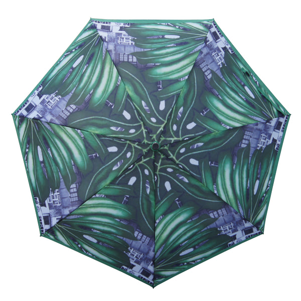 'Yaumati Jungle' Teflon auto umbrella