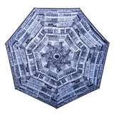 'Yaumati Sketch' Teflon™ quick dry umbrella