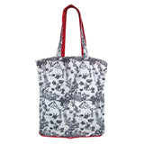 'Hong Kong Toile De Jouy' Zip Wallet Shopping Bag