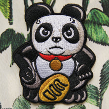 Load image into Gallery viewer, 'Panda (Angry)' embroidered patch