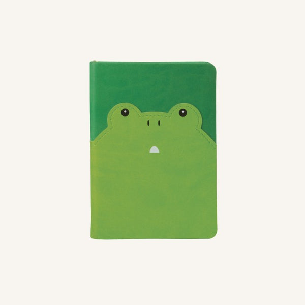 Daycraft Animal Pals lined notebook A6, Frog