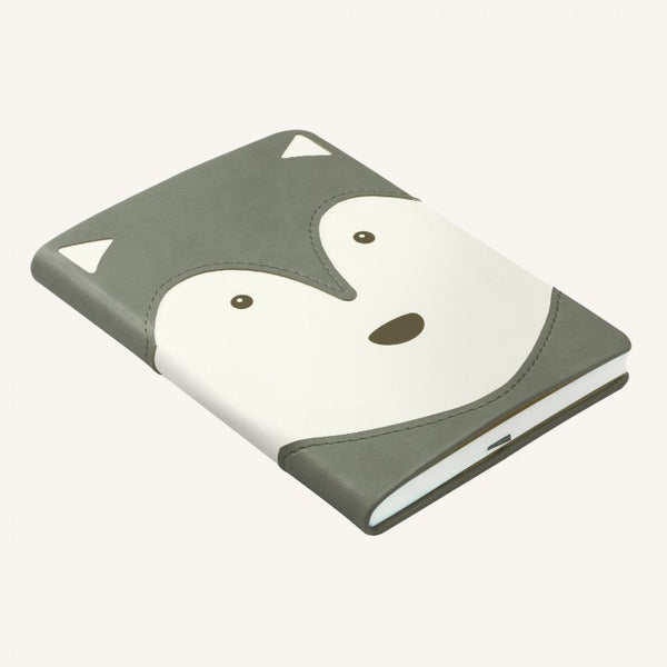 Daycraft Animal Pals lined notebook A6, Husky