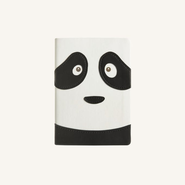 Daycraft Animal Pals lined notebook A6 (panda bear)