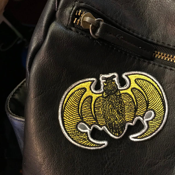'Fook Bat' Embroidered Patch
