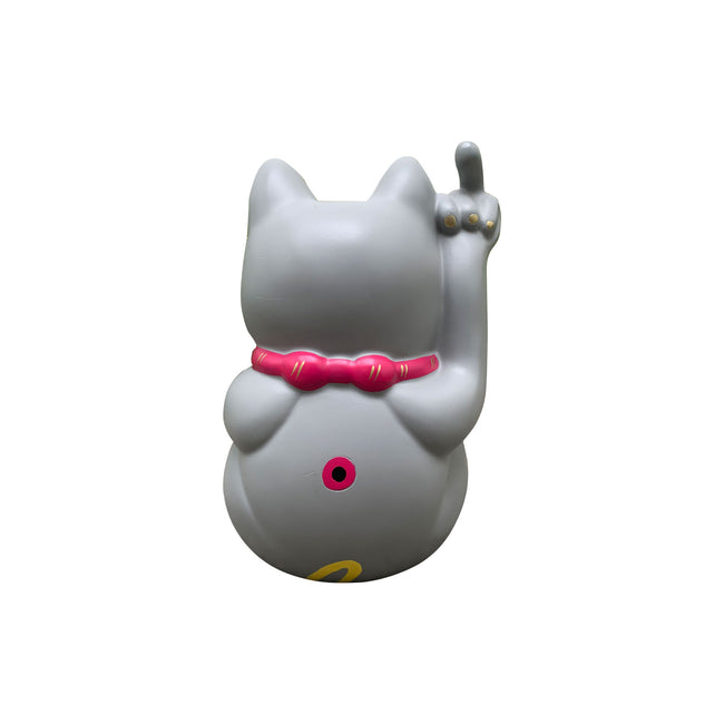 'POP! Angry Cat' - Small, Grey