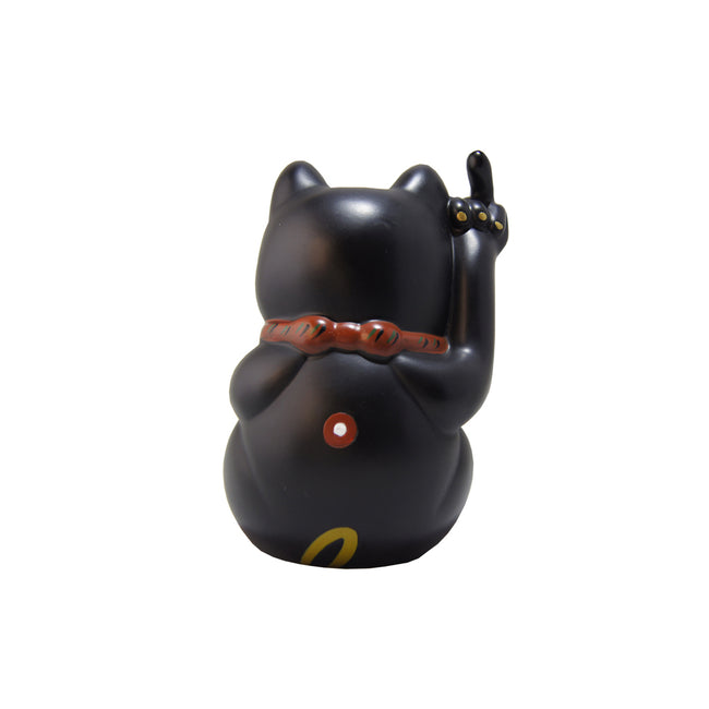 'Angry Cat' (small, black)