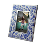 'Hong Kong Toile de Jouy' 4R padded photo frame
