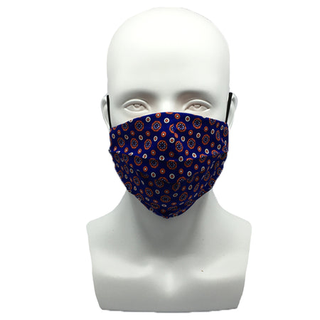 Porcelain White Snouted Mask with Adjustable String (Mesh layer)