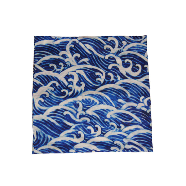 'Blue Waves' Tube Wrap