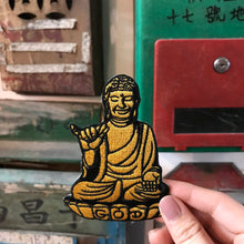 Load image into Gallery viewer, 'Buddha' Embroidered Patch