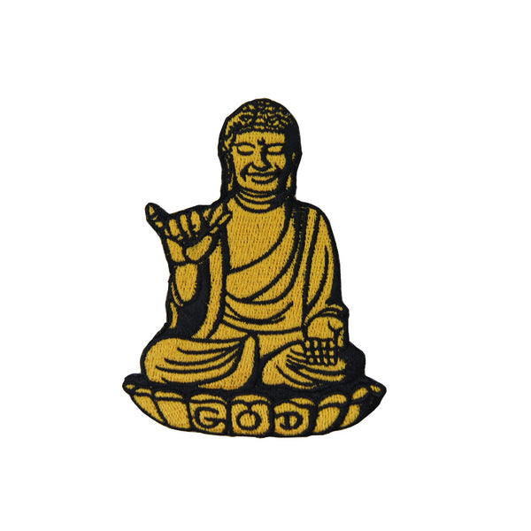 'Buddha' Embroidered Patch