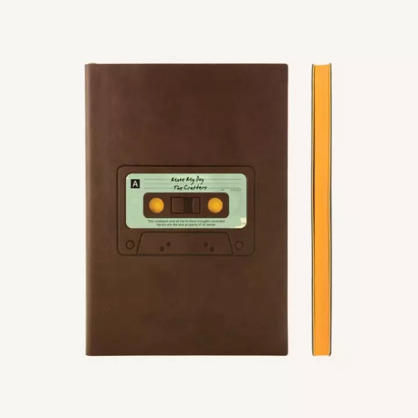 Daycraft Signature Retro Plain Notebook - Tape