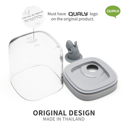 Qualy Lucky Mouse Storage Jar