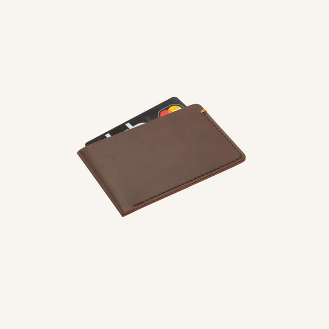 Daycraft Signature Card Pocket in Brown