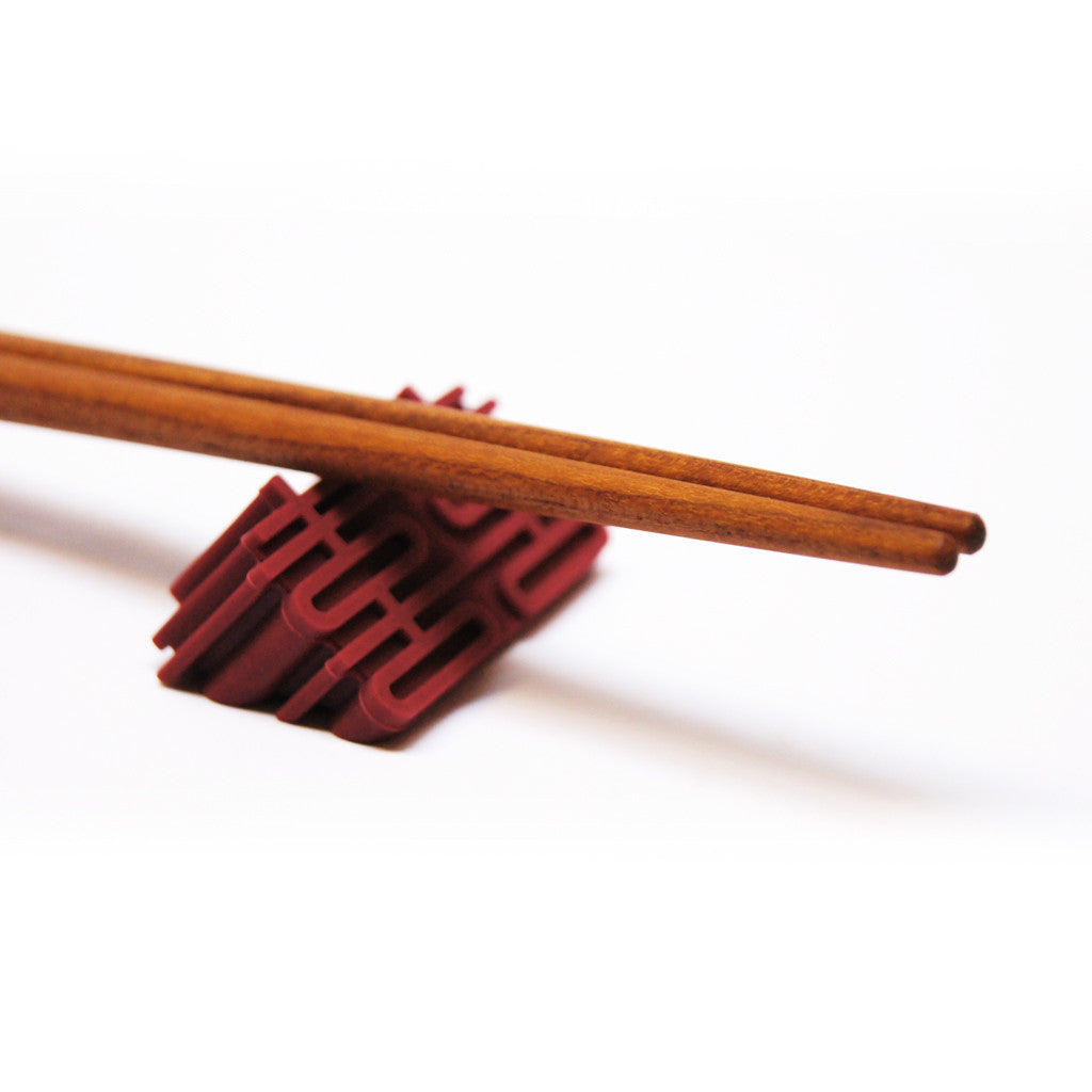 'Double Happiness' silicone chopstick rests - Goods of Desire