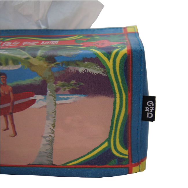 'Repulse Bay' tissue box cover