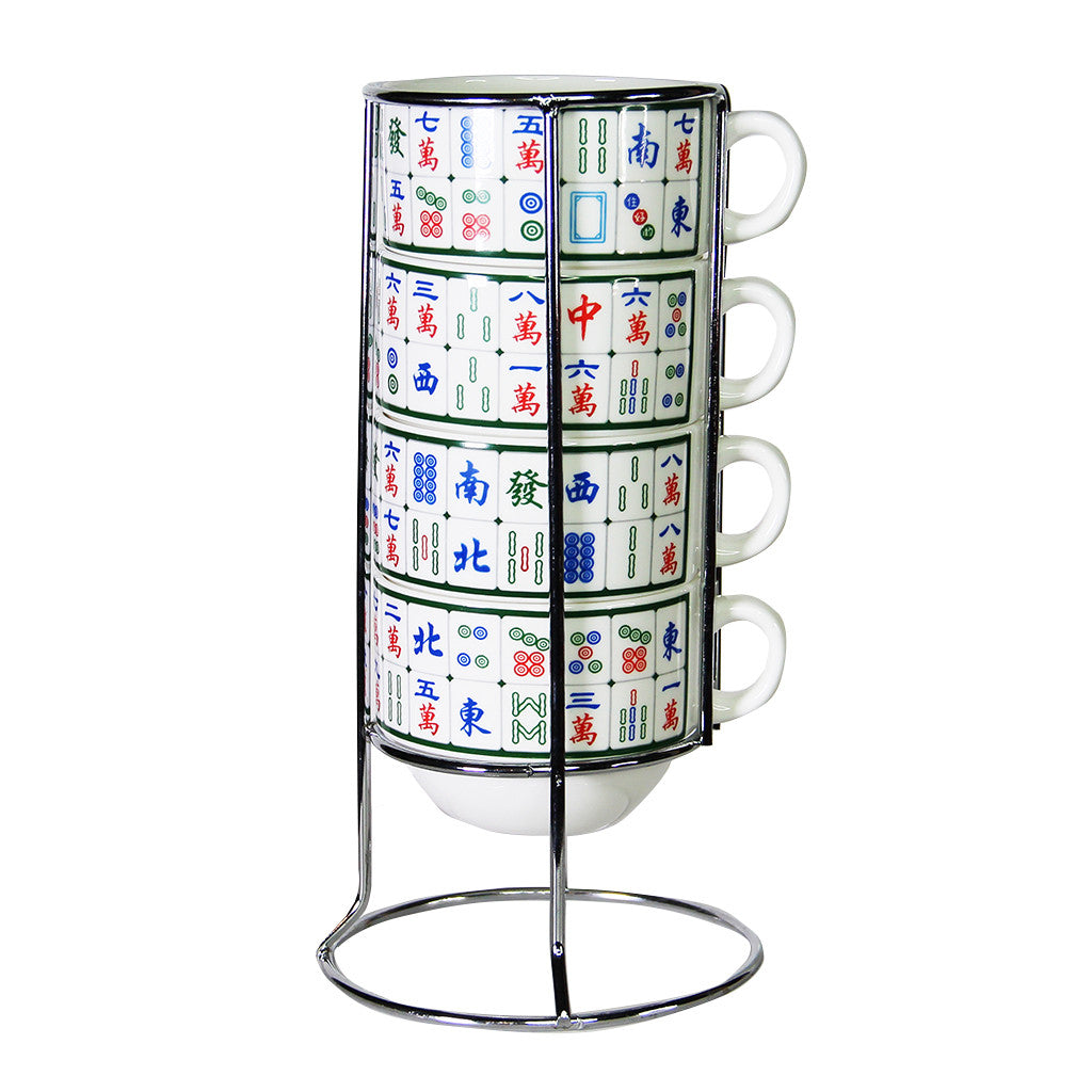'Mahjong' stackable mugs, Tableware, Goods of Desire, Goods of Desire