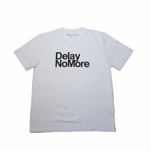 'Delay No More' Classic T-shirt, White