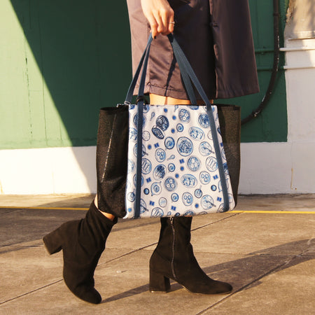 'Goods Of Desire Hong Kong' Tote, Navy