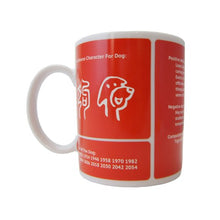 Load image into Gallery viewer, Dog (狗) Chinese Zodiac Mug